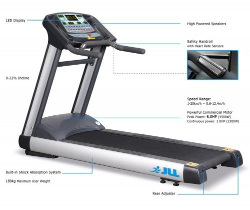 c200 gym treadmill feature