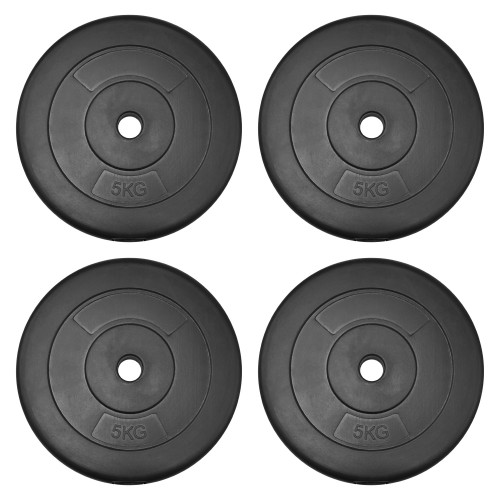 JLL Dumbbell Weight Plates - 4x 5kg