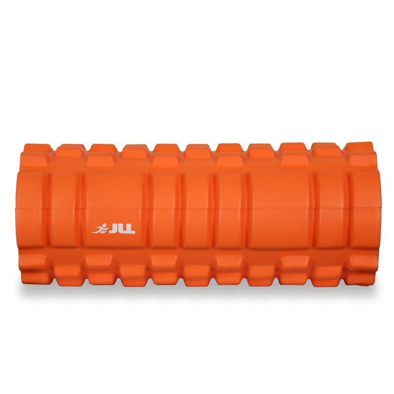 store sports injury high density massage foam rollers colour black orange