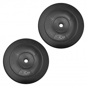 JLL Dumbbell Weight Plates - 2x 10kg