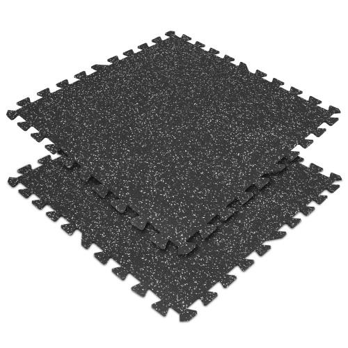 Commercial Interlocking Gym Floor Tiles