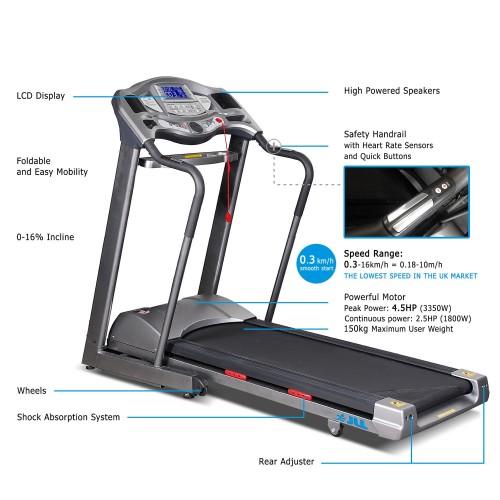 d700 treadmill specification