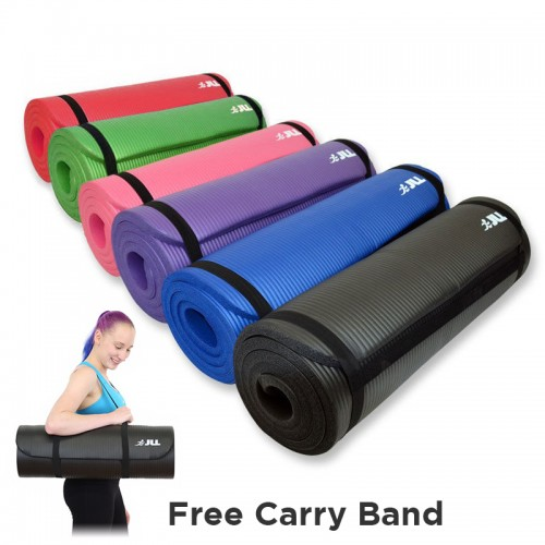 Jll Yoga Mat 15mm Extra Thick Jll Fitness