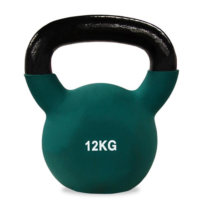 Neoprene Covered Kettlebell 12kg Jll Fitness
