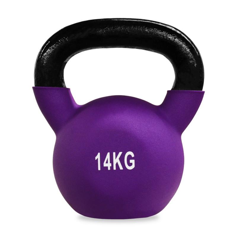 Neoprene Covered Kettlebell 14kg Jll Fitness