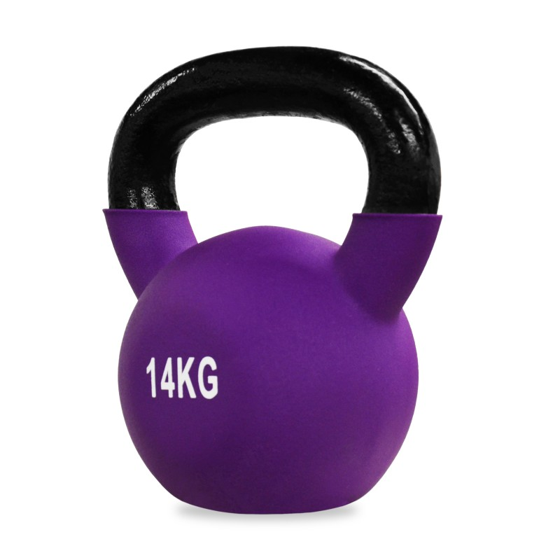 Neoprene Covered Kettlebell 14kg Jll Fitness