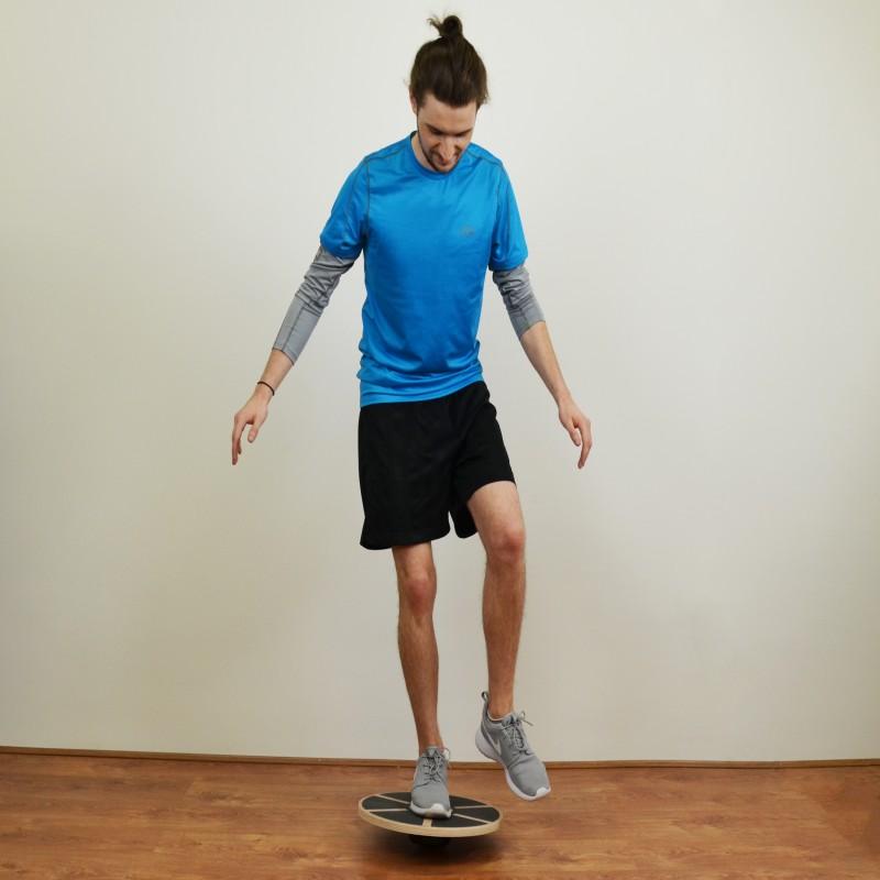 Jll Wooden Balance Wobble Board Jll Fitness