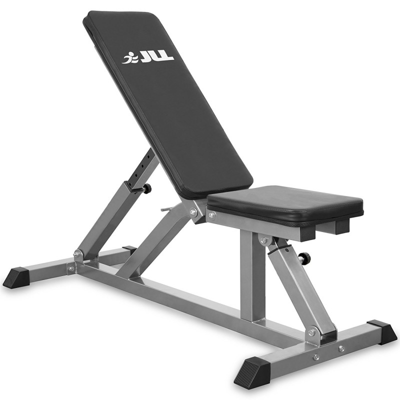 Jll Dumbbell Set: JLL Adjustable Incline Weight Bench