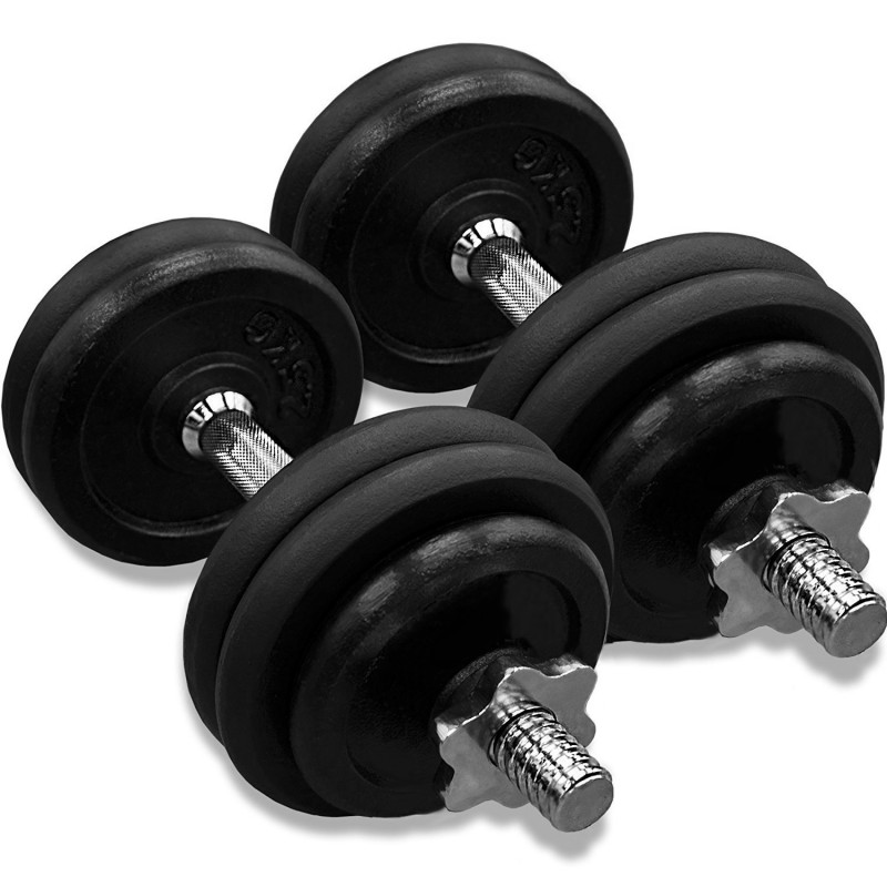 York 30kg Dumbbell Set: JLL 30kg Dumbbell Set