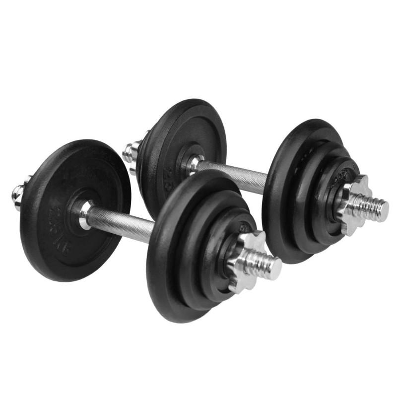 Voit Dumbbell Set 20kg: JLL 20kg Dumbbell Set