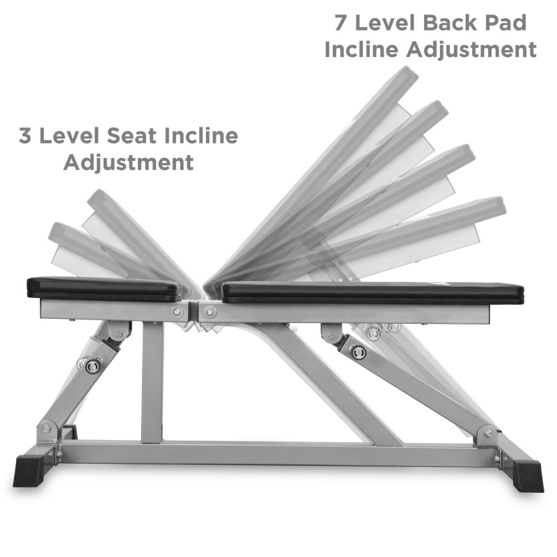 Jll Adjustable Incline Weight Bench Jll Fitness