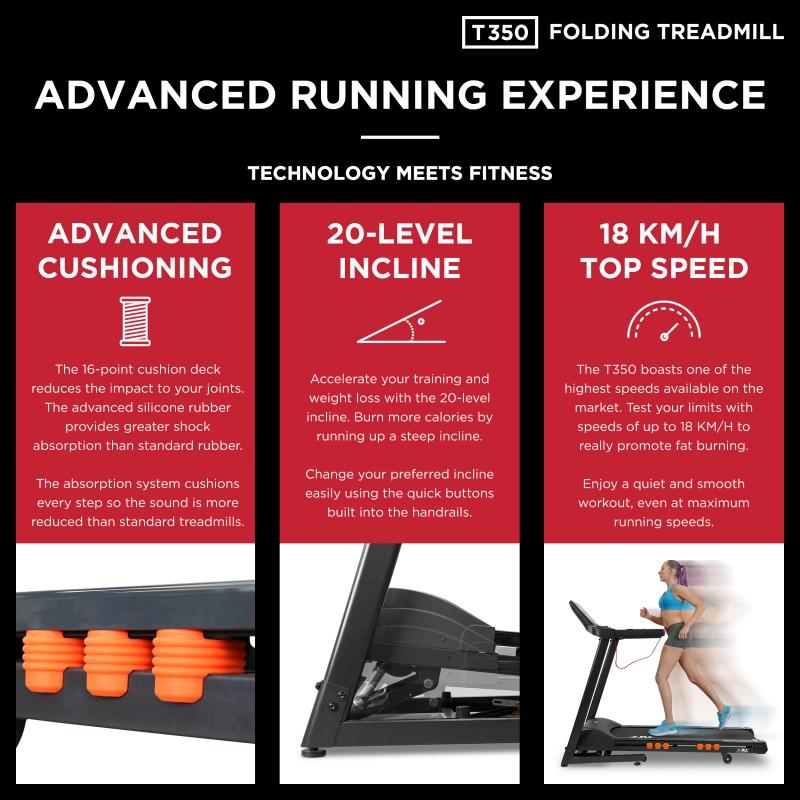 Jll T350 Folding Treadmill Jll Fitness