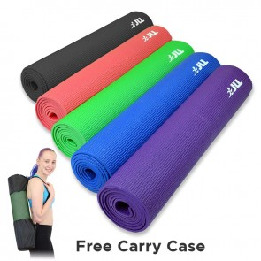 yoga mat green 6mm