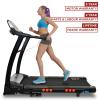JLL S400 Folding Treadmill