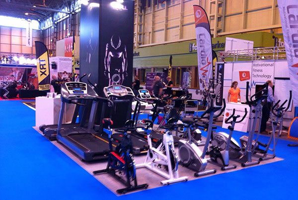jll fitness equipment at liw 2014