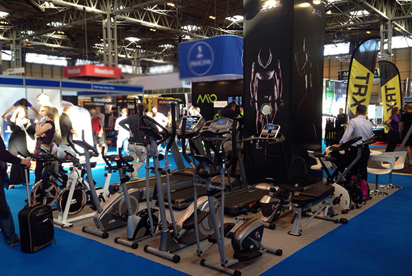jll treadmills at liw show