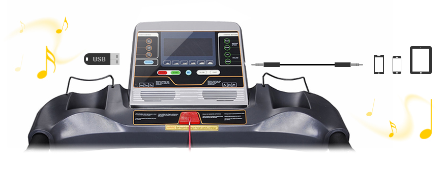 The S300 monitor features LCD display that shows you information about your workout.
