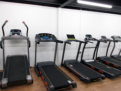 jll treadmill showroom
