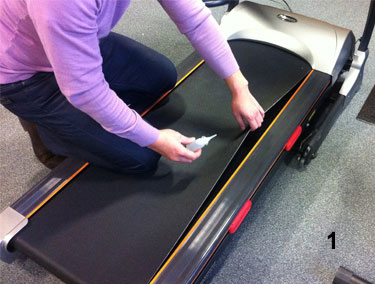 how to lubricate treadmill