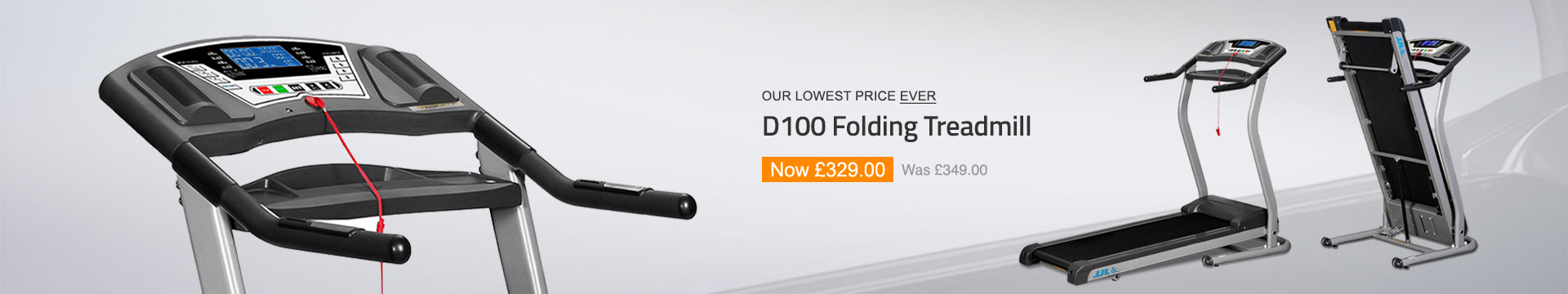 D100 Folding Treadmill
