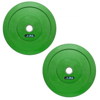 JLL® Olympic Weight Plates-10kg x2 (20kg)