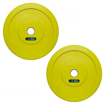 JLL® Olympic Weight Plates-15kg x2 (30kg)