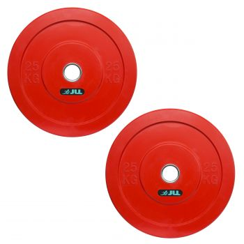 JLL® Olympic Weight Plates-25kg x2 (50kg)