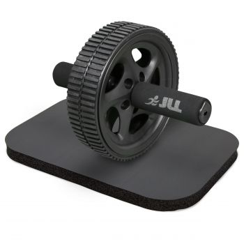 JLL Dual Ab Roller Exercise Wheel & Knee Pad