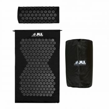 JLL Acupressure Mat Set-Black