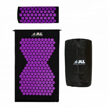 JLL Acupressure Mat Set-Purple
