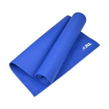 yoga mat blue 6mm thick