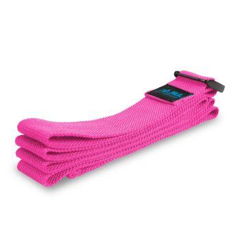 JLL Cotton Yoga Belts Strap W/ Plastic Cinch