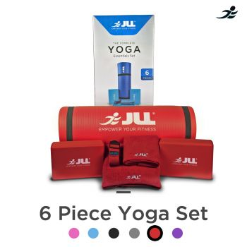 Yoga Sets - Starter / Essentials / Complete-Red-Essentials